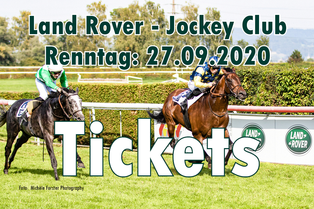 Eintrittstickets Land Rover - Jockey Club Renntag