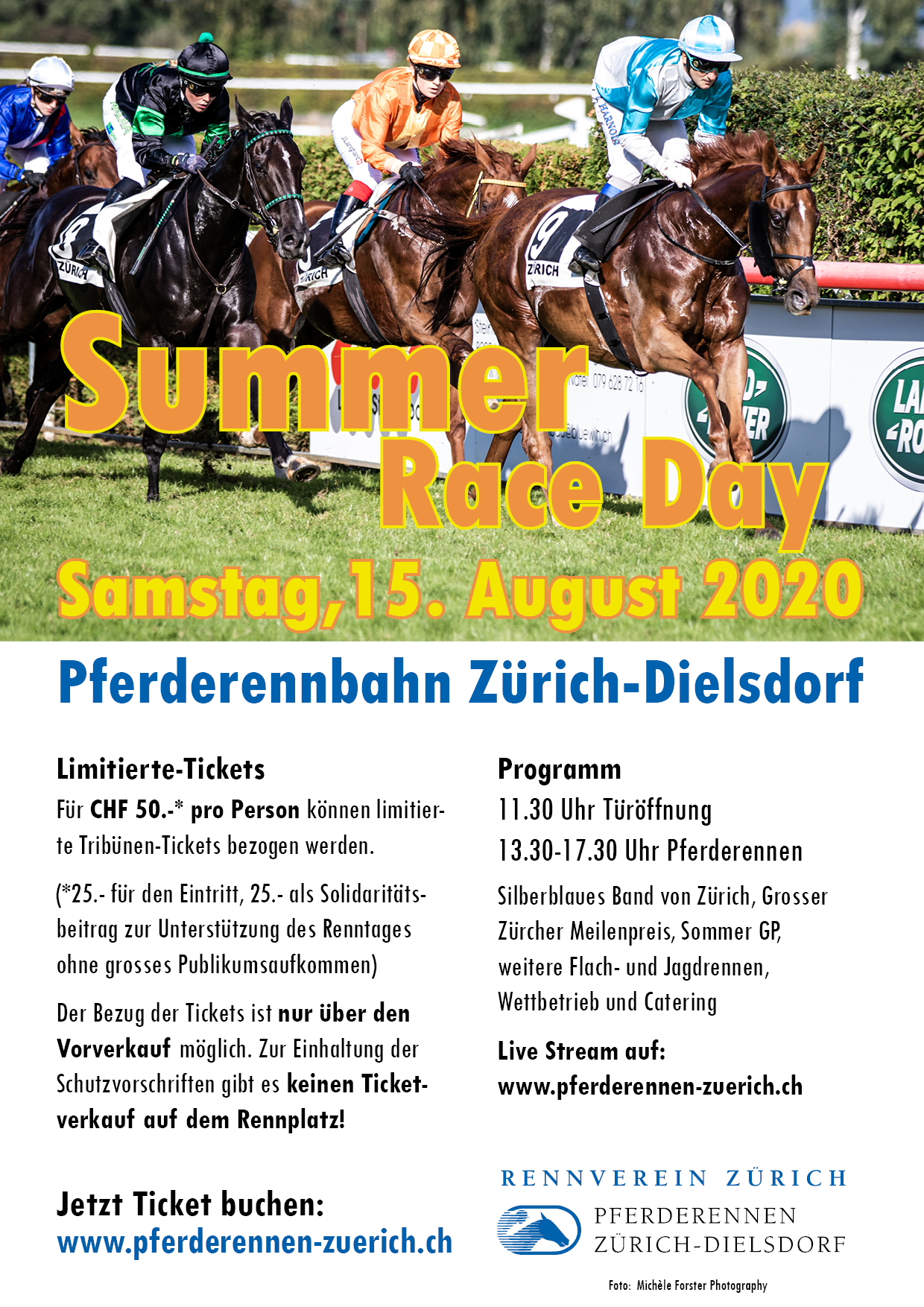 Summer Race Day