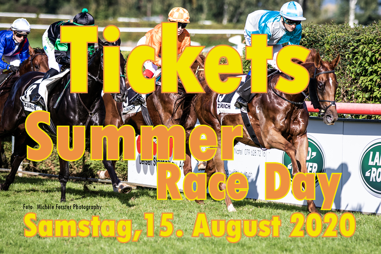 Tickets für den Summer Race Day vom 15.08.2020 bestellen